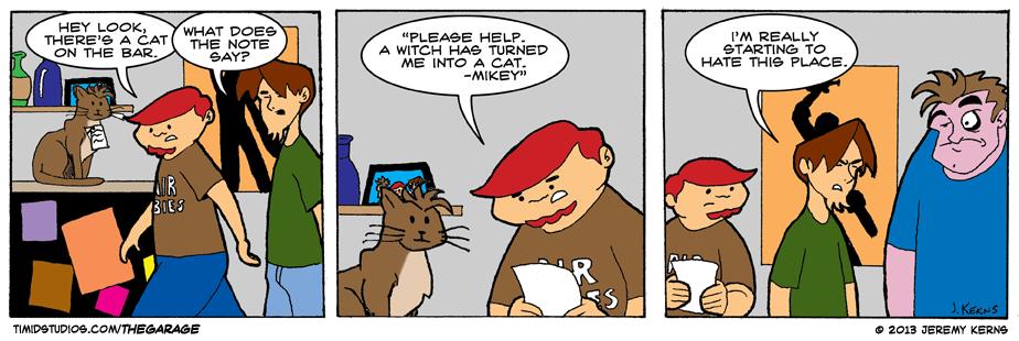 #14 – That Darn Cat